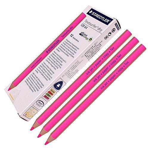 Preisvergleich Produktbild Staedtler Textsurfer dry Textmarker Bleistift 12864Zeichnen für Schreiben Skizzieren Inkjet, Papier, Copy, Fax (Pack Of 12Pink)