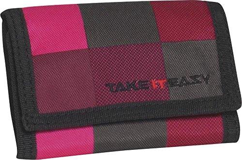 Preisvergleich Produktbild Take It Easy Geldbörse Fire 481209 rot/schwarz