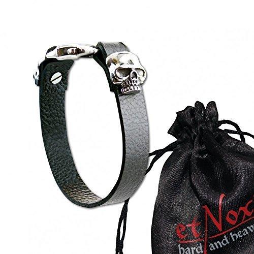 """Echt etnox-Cinturino in pelle """"Skull Hook"""""""