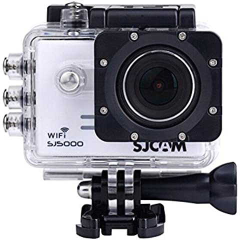 DEVELOP [SJCAM SJ5000 WIFI Action Camera] Professional Portable Mini Wireless Sports Camera (Novatek NTK96655, Panasonic MN34110PA 14MP CMOS, 1080P 30FPS/720P 60FPS/720P 30FPS/WVGA 60FPS)-White