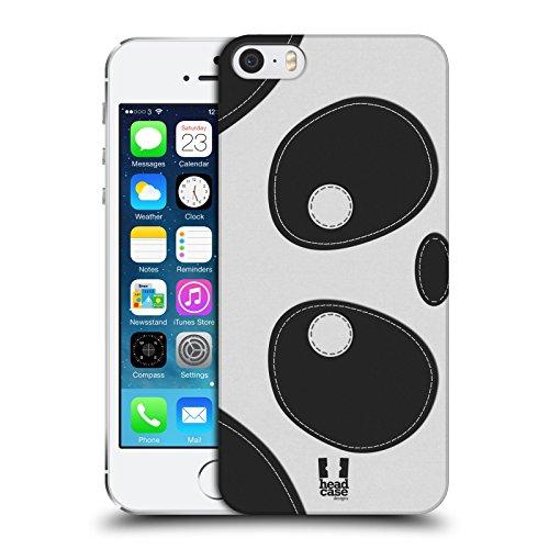 Head Case Designs Cochon Animaux - Tache Serie 1 Étui Coque D'Arrière Rigide Pour Apple iPhone 5 / 5s / SE Panda
