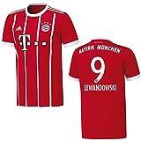 Adidas FC Bayern Heimtrikot 17/18 Lewandowki Kinder - 176