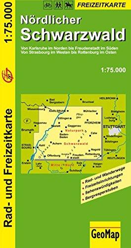 Download GeoMap Karten, Nördlicher Schwarzwald