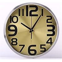 LLSJZ Sala de estar dormitorio silencio redondo reloj de pared  creativoreloj c0039413859