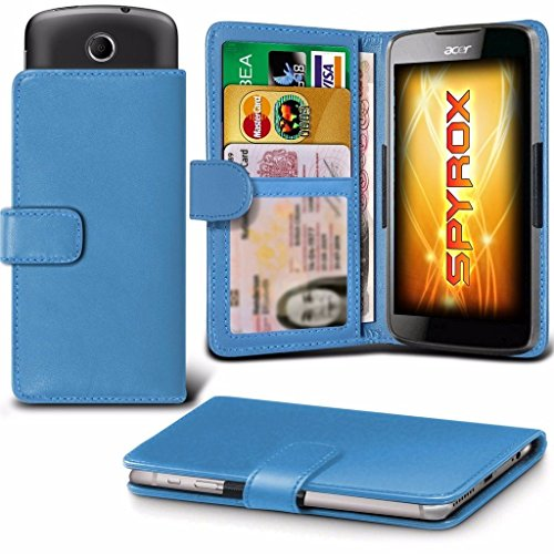 coolpad-rogue-light-blue-case-clamp-style-wallet-protective-pu-leather-cover
