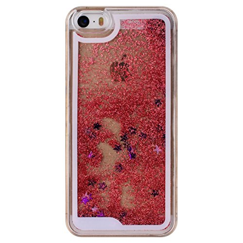iPhone 5S Hülle OuDu Glitzern Funkeln Hülle TPU Silicone Etui für iPhone 5 Bling Glitter Case Soft Lightweight Bumper Sparkle Style iPhone SE Cover Flexible Schlanke Schale Glatte Leichte Tasche Ultra Glänzendes Pulver