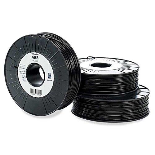 Ultimaker Cartouche de filament ABS – 2.85mm – Noir – 750 g