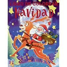 ❄ Libro de Colorear Navidad ❄ Colorear Para Ninos ❄ Colorear Niños 7 Años: ❄ Christmas Coloring Book Boys & Girls ❄ ... Jumbo (Spanish Edition) ❄: Volume 4