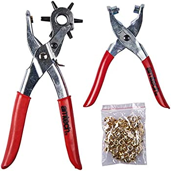Rapid Eyelet Plier Includes Eyelets for Professional and Diy Use Rp05 4 mm 5000407
