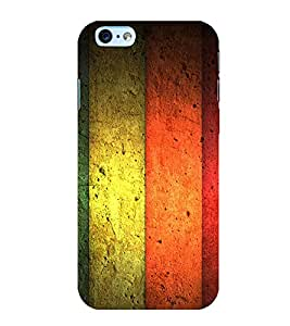 PrintVisa Flying Colors 3D Hard Polycarbonate Designer Back Case Cover for Apple iPhone 6S