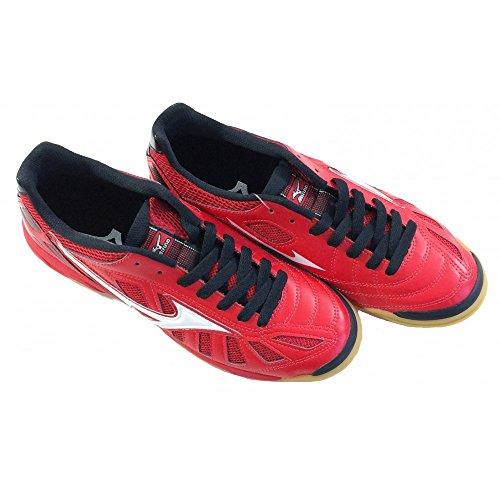 Mizuno Chaussure de Football 2015/2016 Officiel Salle Salle Premium-Noir Taille Q1GB155062 Rouge Blanc Rouge - rouge