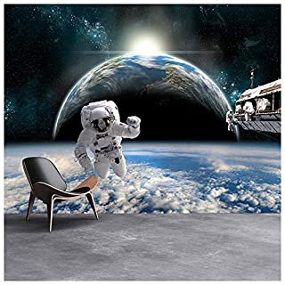 azutura Astronaut Space Wall Mural Planet Earth Photo Wallpaper Boys Bedroom Home Decor available in 8 Sizes Gigantic Digital