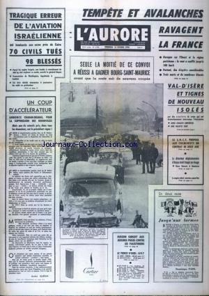 AURORE (L') [No 7918] du 13/02/1970