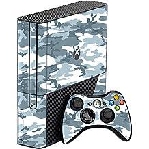 GADGETS WRAP Xbox 360 Full Grey Camo Skin For Console & Controller