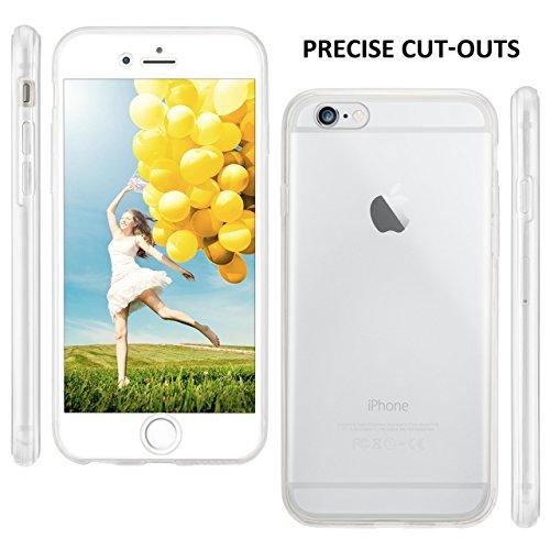 iPhone 6S Plus Hülle Silikon Transparent 360 Grad [OneFlow Double Side Cover] Dünne Schutzhülle Slim Handyhülle für iPhone 6 Plus / 6S + Plus Case Klar Silikonhülle TPU CRYSTAL