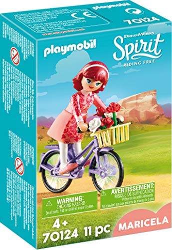 Playmobil- Maricela con Bicicleta Juguete