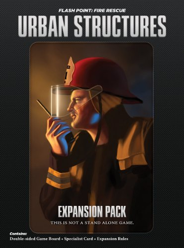Indie Board & Card Games IBG0FP02 - Flash Point: Fire Rescue - Urban Structures Expansion Brettspiele
