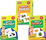 #4: Krazy Mini Flash cards Set of 3(Animals,Vegetables,Fruits)