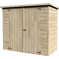 Box Sistemazione Legno Bike Box 12 mm 193x98xh161 cm