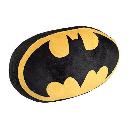 Cojín amarillo de Batman, 34x22x15 cm