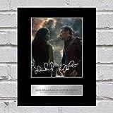 ZOË SALDAÑA und Chris Pratt Foto Display Guardians Of The Galaxy