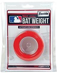 Franklin Sports MLB Baseball Bat 16oz Ounce 1 Pound Weight Batting Swing Donut