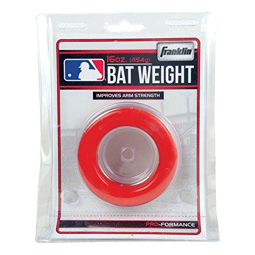 Franklin Sports MLB Baseball Bat 16oz Ounce 1 Pound Weight Batting Swing Donut Test
