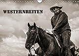 Westernreiten (Wandkalender 2019 DIN A4 quer): Schauen Sie den Cowboys und Cowgirls bei der Arbeit am Rind über die Schulter. (Monatskalender, 14 Seiten ) (CALVENDO Tiere)