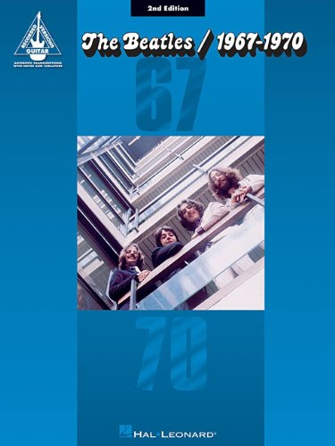 Beatles the 1967 - 1970 2nd Edition Guitar Recorded Version Gtr Tab Bk