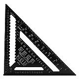 Strumento di misurazione triangolo, del righello della lega di alluminio a 12 pollici alta precisione per Squadrette da carpentieri