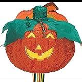 1 Piñata * KÜRBISLATERNE * für Halloween oder Motto-Party // handgefertigt // Pinata Kinder Geburtstag Kindergeburtstag Feier Fete Party Motto Horror Grusel Oktober Süßigkeiten Süßes Jack O'Lantern