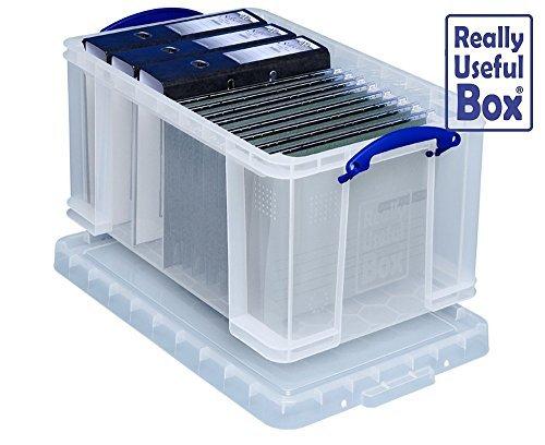 Preisvergleich Produktbild 48 Liter von REALLY USEFUL Box 'CLEAR'1 Stück