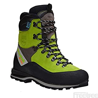 Arbortec Scafell Lite chainsaw boots (lime) (class 2) (39)