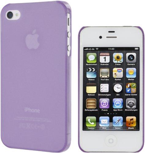 Artwizz SeeJacket Clip Light Rückseitenschutz für Apple iPhone 4/4S violet violet