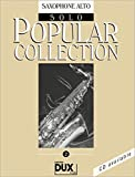 Popular Collection 2: Saxophone Alto Solo