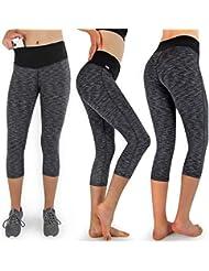 9da3f73cba3 Formbelt® Corsaire Running pour Femme Leggings Pantalon de Running - Yoga -  Sport