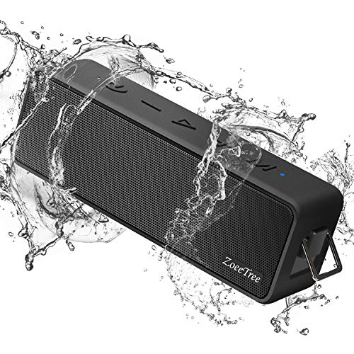 Cassa Bluetooth Waterproof, ZoeeTree S10 Casse Bluetooth 24W Bassi Potenti, IPX7 Altoparlante...