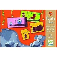'Djeco–79690–Puzzle Duo–Mama und Baby–2-teilig