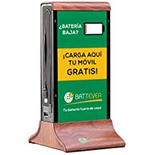 Cargador de móvil para bares y restaurantes, cargador hostelería BATTEVER (Modelo Classic / 20.800 mAh) + Promoción en App + Diseño personalizado