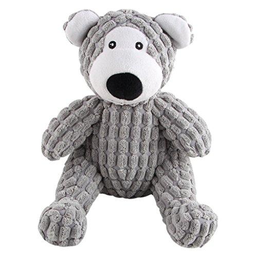 IFOYO Squeaky Hund Hunde, Spielzeug, robust, Squeaker Hundespielzeug Hunde, niedliche Tiere geprägt, interaktives Spielzeug mit Tuch, Hunde-Spielzeug für Langeweile