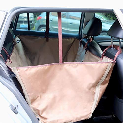 GDZ Autoschondecke für Hunde Rücksitz mit Seitenschutz, Universalgröße Kratzfest rutschfest Wasserdicht Abriebfest Ideale Comfort Hund Autositzbezug (Color : Green)