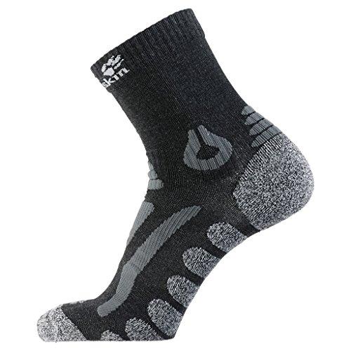 Jack Wolfskin Herren Socken Hiking Pro Classic Cut, dark grey, 47-49, 1904101-6320479