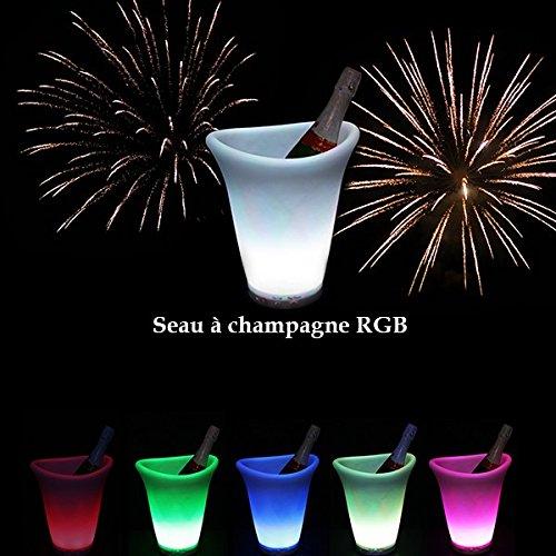 Seau à Champagne Lumineux RGB à LED