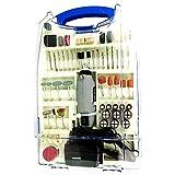 XZANTE Spina UE 12 v Micro-smerigliatrice set mini trapano elettrico 110PZ strumento di lucidatura multifunzionale strumento di rettifica velocita' della batteria strumento di rettifica
