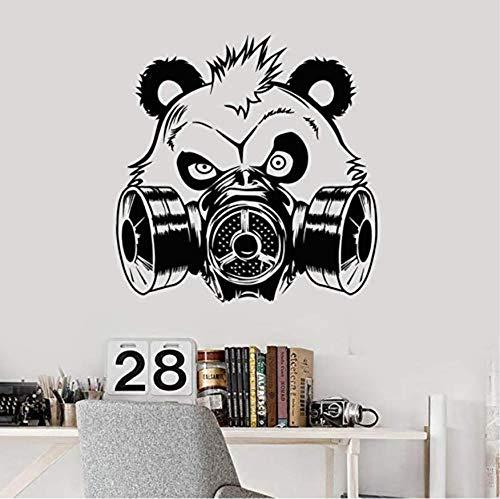 3D Wall Stickerroom Cabeza En La Máscara De Gas De