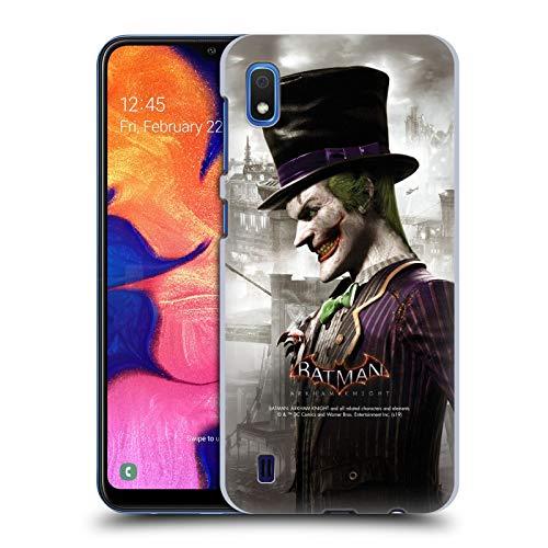 Head Case Designs Officiel Batman: Arkham Knight Joker Caractères Coque Dure pour l'arrière Compatible avec Samsung Galaxy A10 (2019)