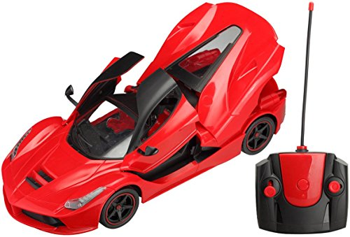 Saffire Remote Controlled Ferrari with Opening Doors, Royal Red