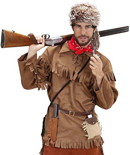 Widmann Erwachsenenkostüm Jäger, - Trapper Kostüm