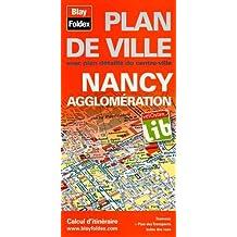 Plan de Nancy et de son agglomération
