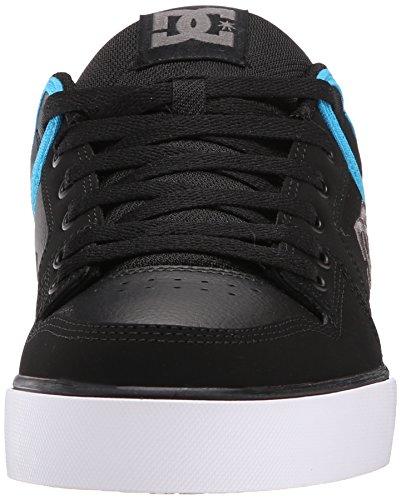 DCPure Mens Shoe - Pantofole unisex adulto Black/Grey/Blue